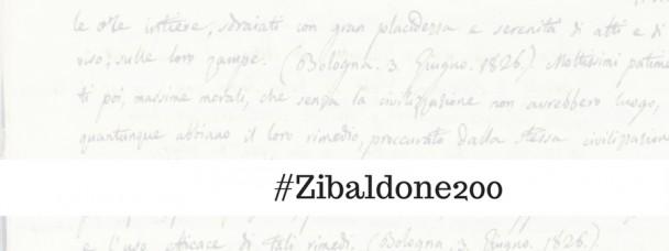 Lo Zibaldone compie 200 anni, noi lo rileggiamo insieme sui social!